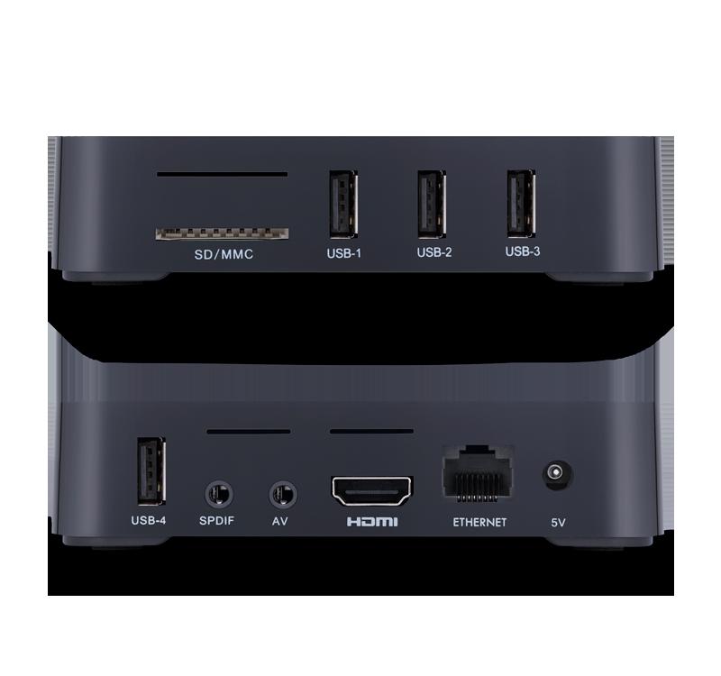 Smart Box TV STV-2000 - Aquario