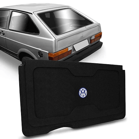 Tampão Automotivo VW GOL G1 QUADRADO 1980 A 1995 Grafite