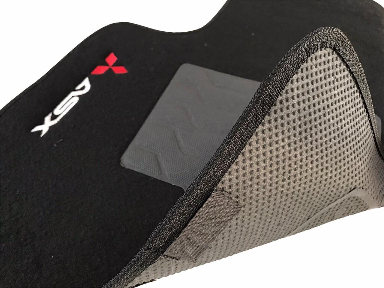 Tapete Carpete Mitsubishi Preto 5 Pecas