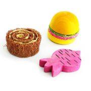 Brinquedo para Roedor Mordedor Madeira e Bucha Pawise