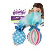 Brinquedo para Gato 2 Bolinhas catnip Pawise