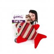 Brinquedo para Gato Peixe listrado Pawise