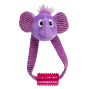 Brinquedo de Pelúcia Elefante c/ Apito e Mordedor Pawise