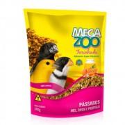 Farinhada para Pássaro Mel, Ovos e Própolis 300g Megazoo