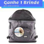 Mochila de Transporte Cão e Gato GANHE 1 BRINDE Pawise