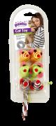 Kit Brinquedos para Gato com 6 unidades  Pawise