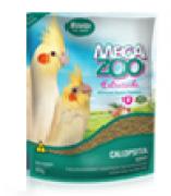 Ração Megazoo Extrusada Calopsita Soft 350 G