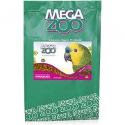 Ração Megazoo Extrusada Papagaios com frutas e legumes 4 Kg