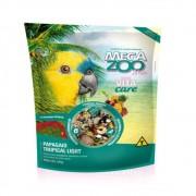 Ração Mix para Papagaio Tropical Ligth 500g Megazoo