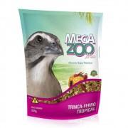 Ração Mix para Trinca Ferro Tropical 350g Megazoo