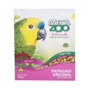 Ração para Papagaio AM16 Grande 600 g Extrusada Megazoo