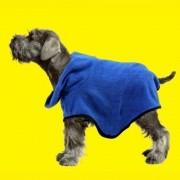 Roupão de banho para Cachorro Toalha tam G Pawise