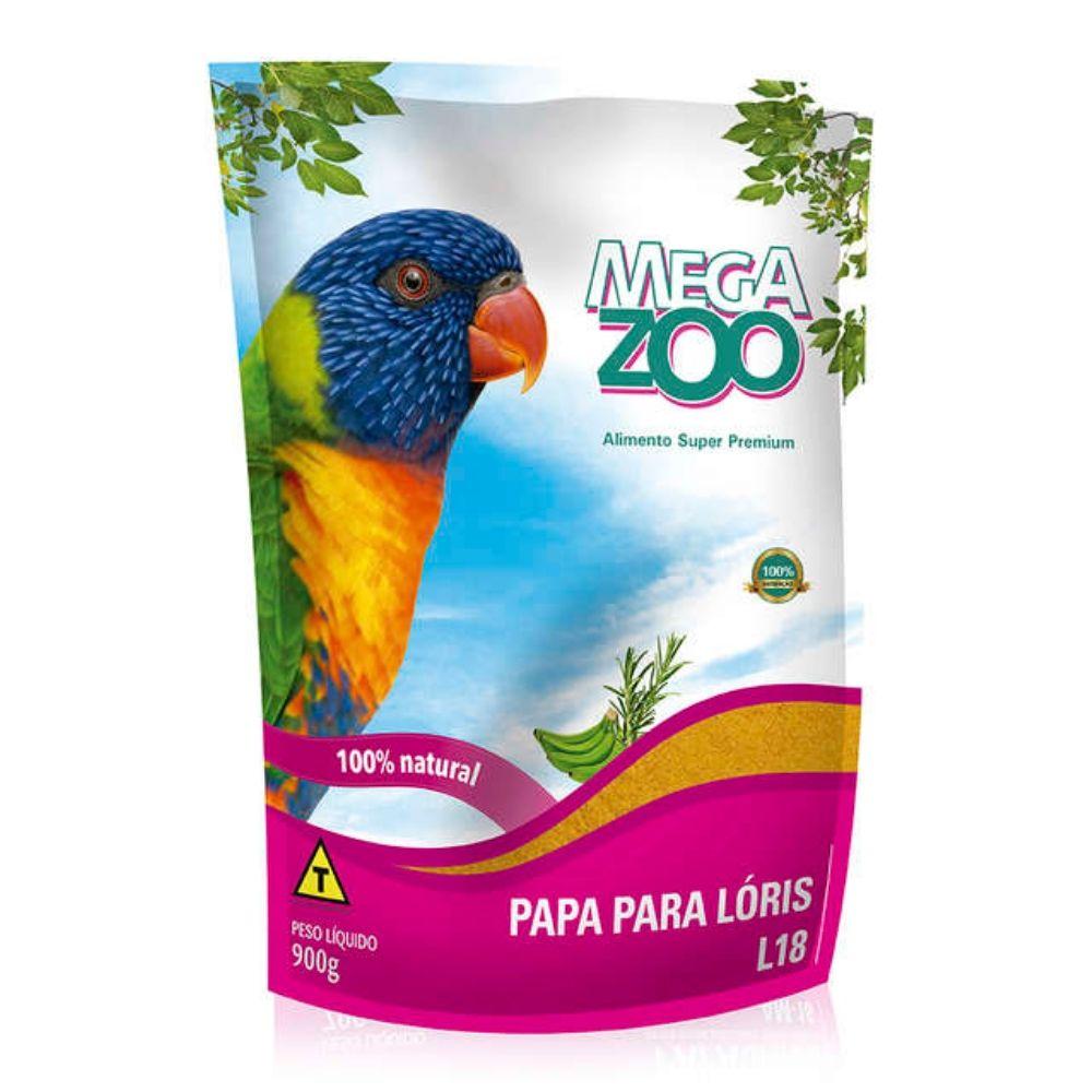 Alimento Papa para Loris L18 com 900g Megazoo