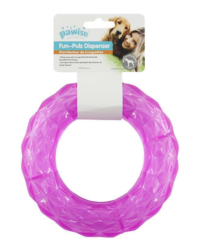 Brinquedo de Borracha Anel para Cachorro M Pawise