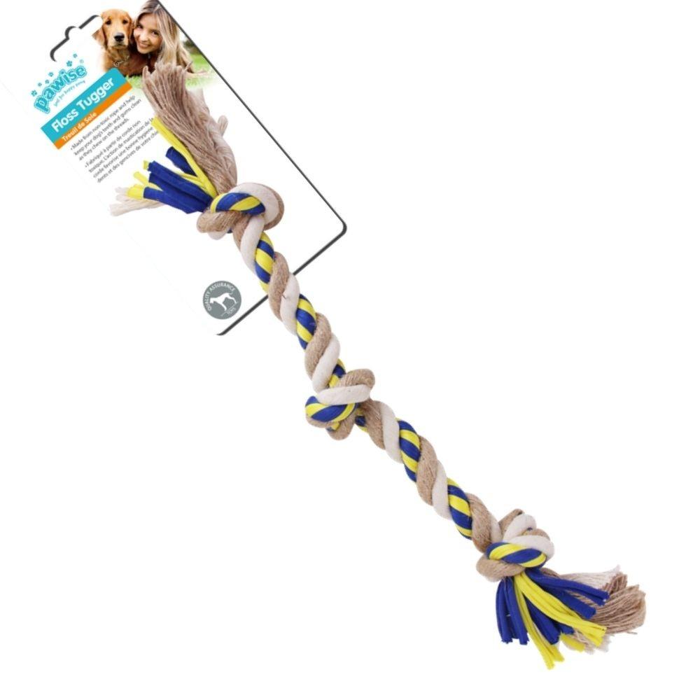Brinquedo de Corda para Cachorro c/ 3 nós  Pawise