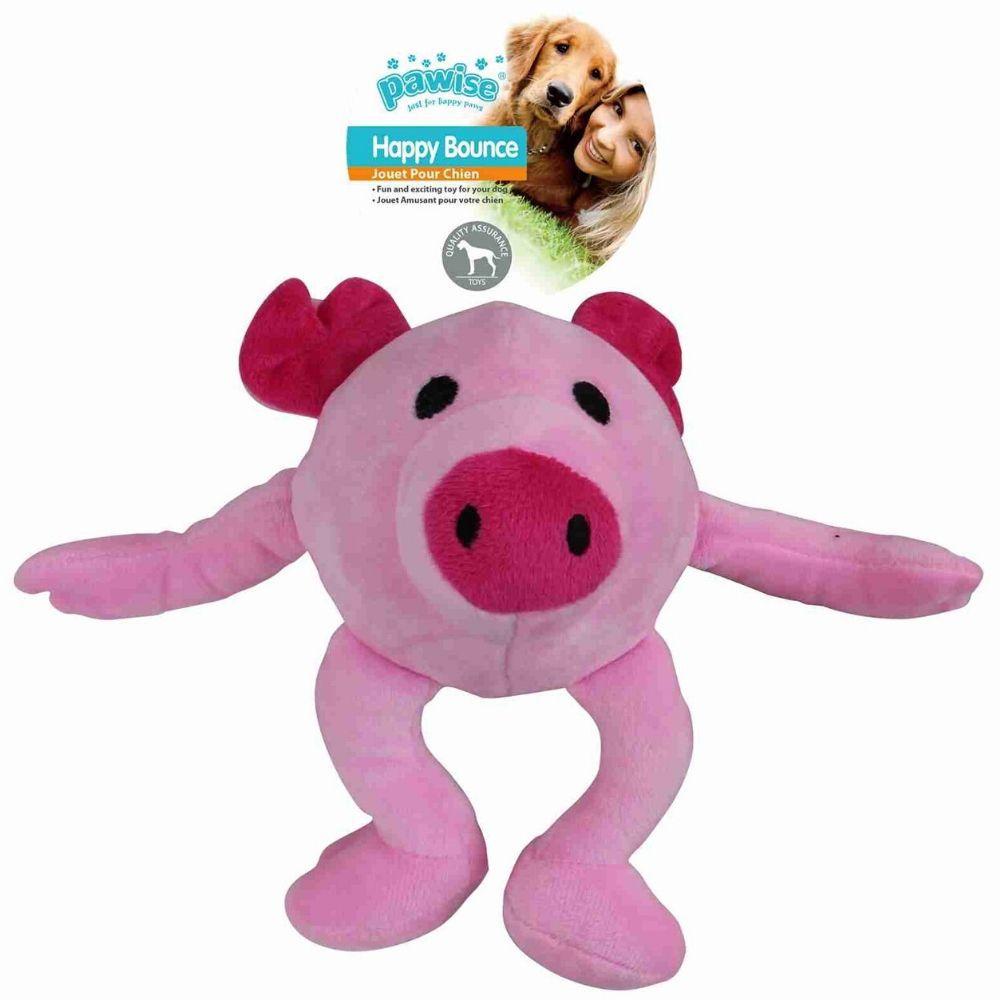 Brinquedo de pelúcia bola saltitante Porco G Pawise