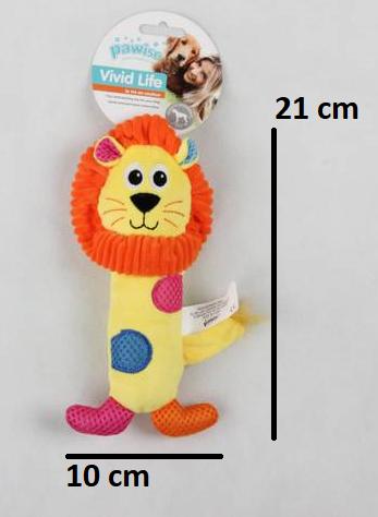 Brinquedo Pelúcia Leão Stick Pawise