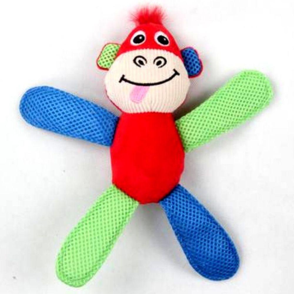 Brinquedo de Pelúcia Macaco com Apito Pawise