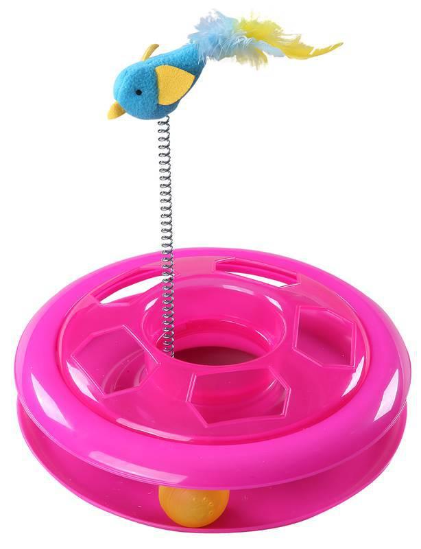 Brinquedo Interativo para Gato Caçador com CATNIP  Pawise