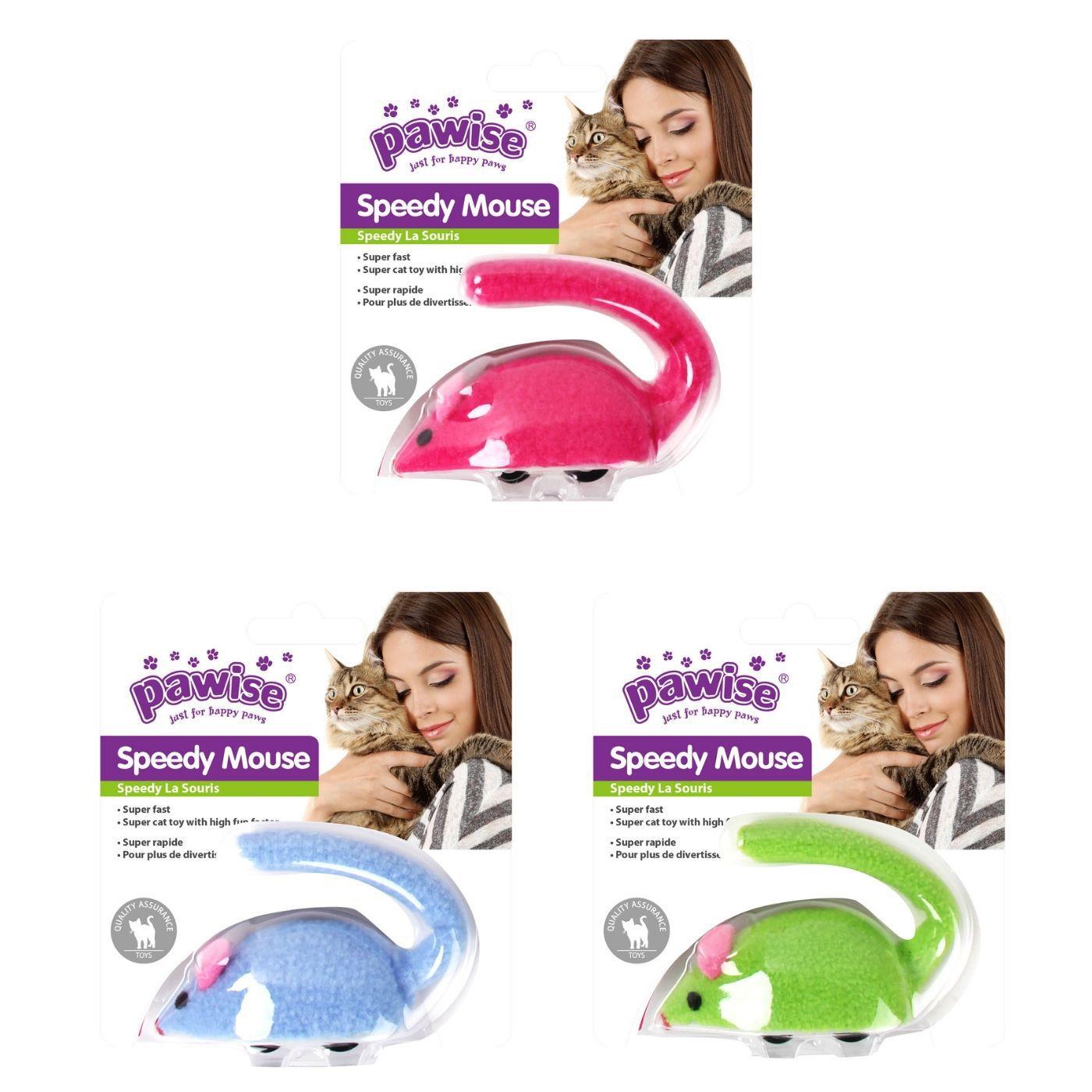 Brinquedo Interativo para Gato Rato de Fricção Pawise