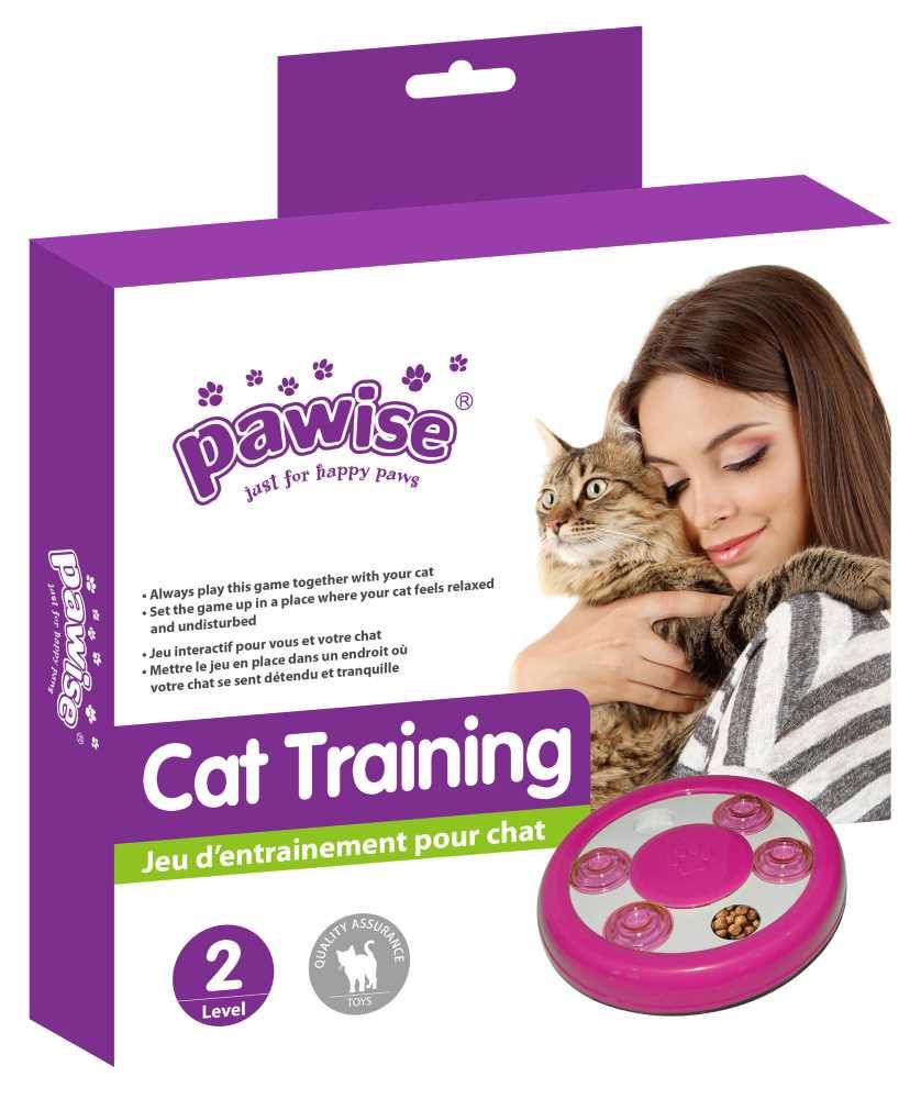 Brinquedo para Gato Interativo Porta Petisco Pawise