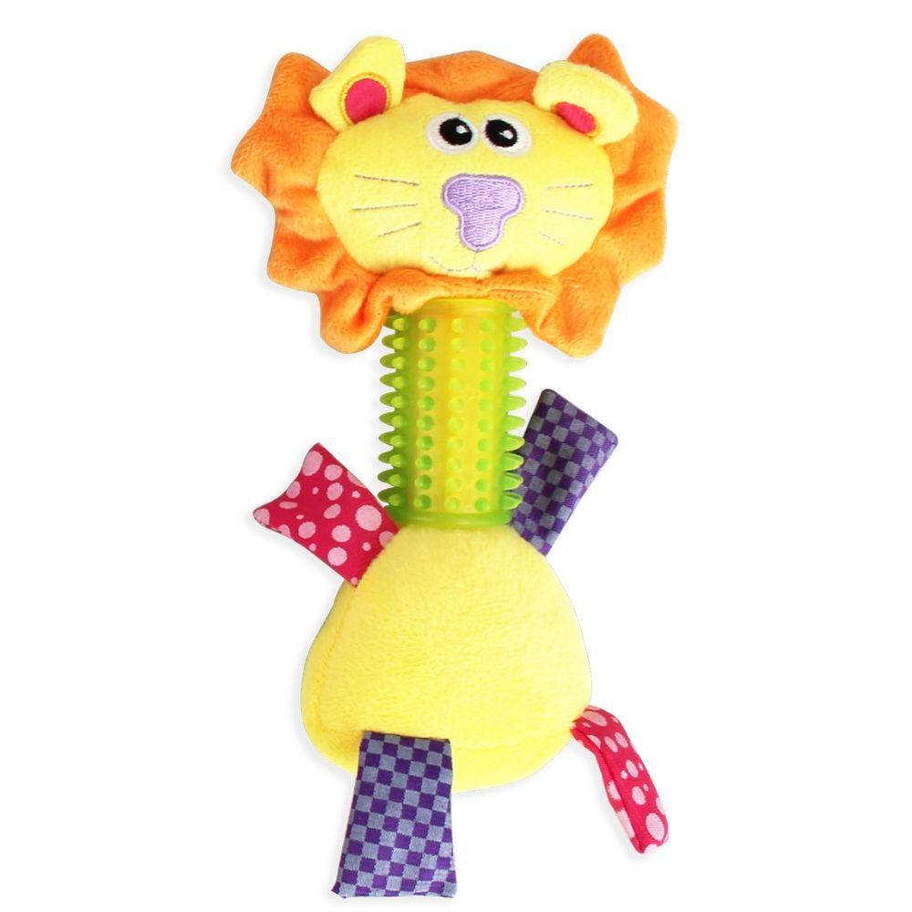 Brinquedo Leão com Mordedor Pawise