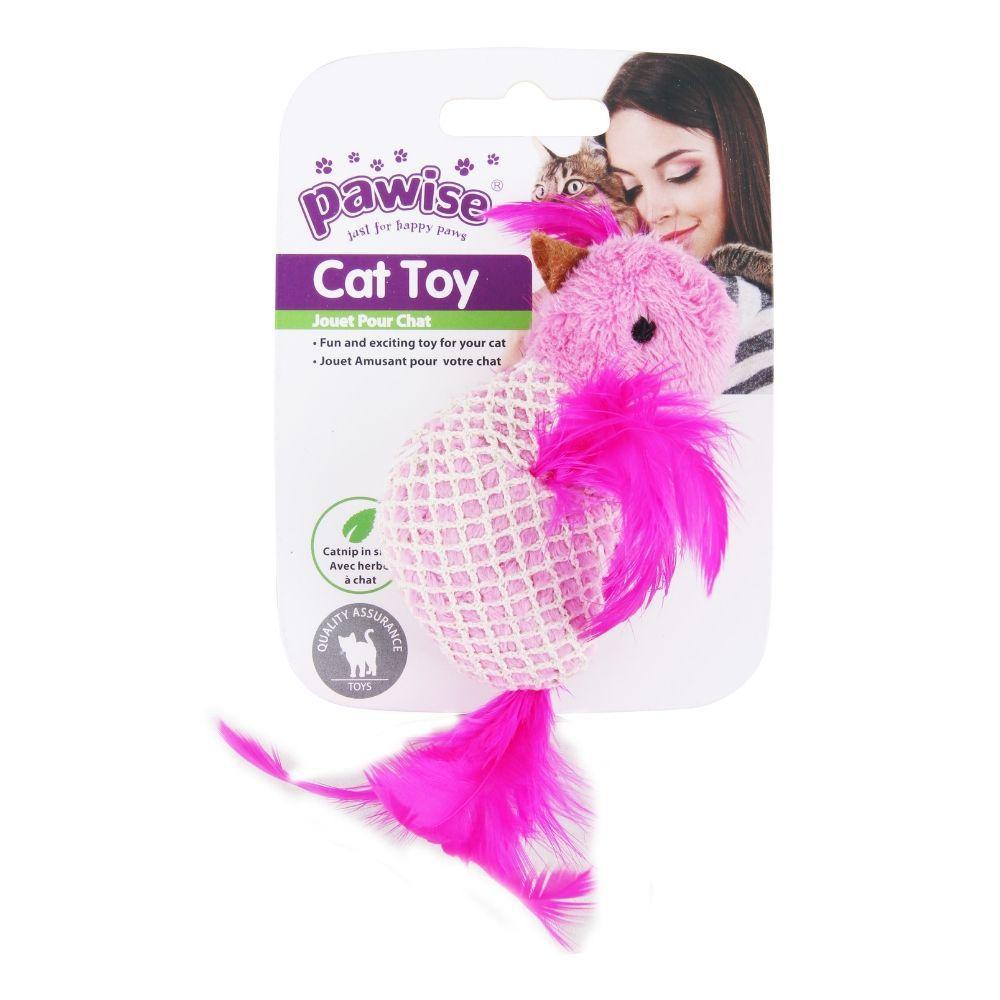 Brinquedo para Gato Pássaro com Catnip Pawise