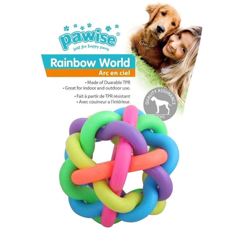 Brinquedo para Cachorro Borracha Colorido M Pawise