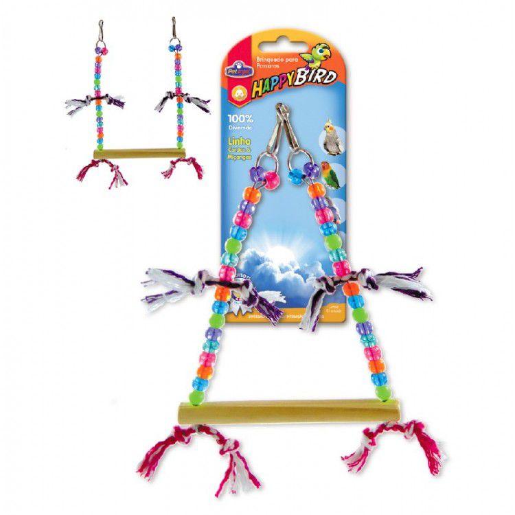 Brinquedo para Calopsita Balanço Trapezio