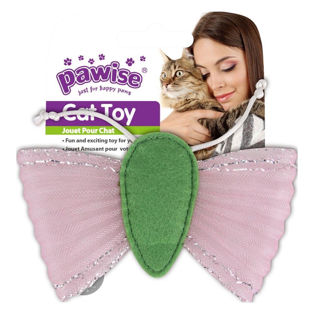 Brinquedo para Gato Borboleta com catnip Pawise