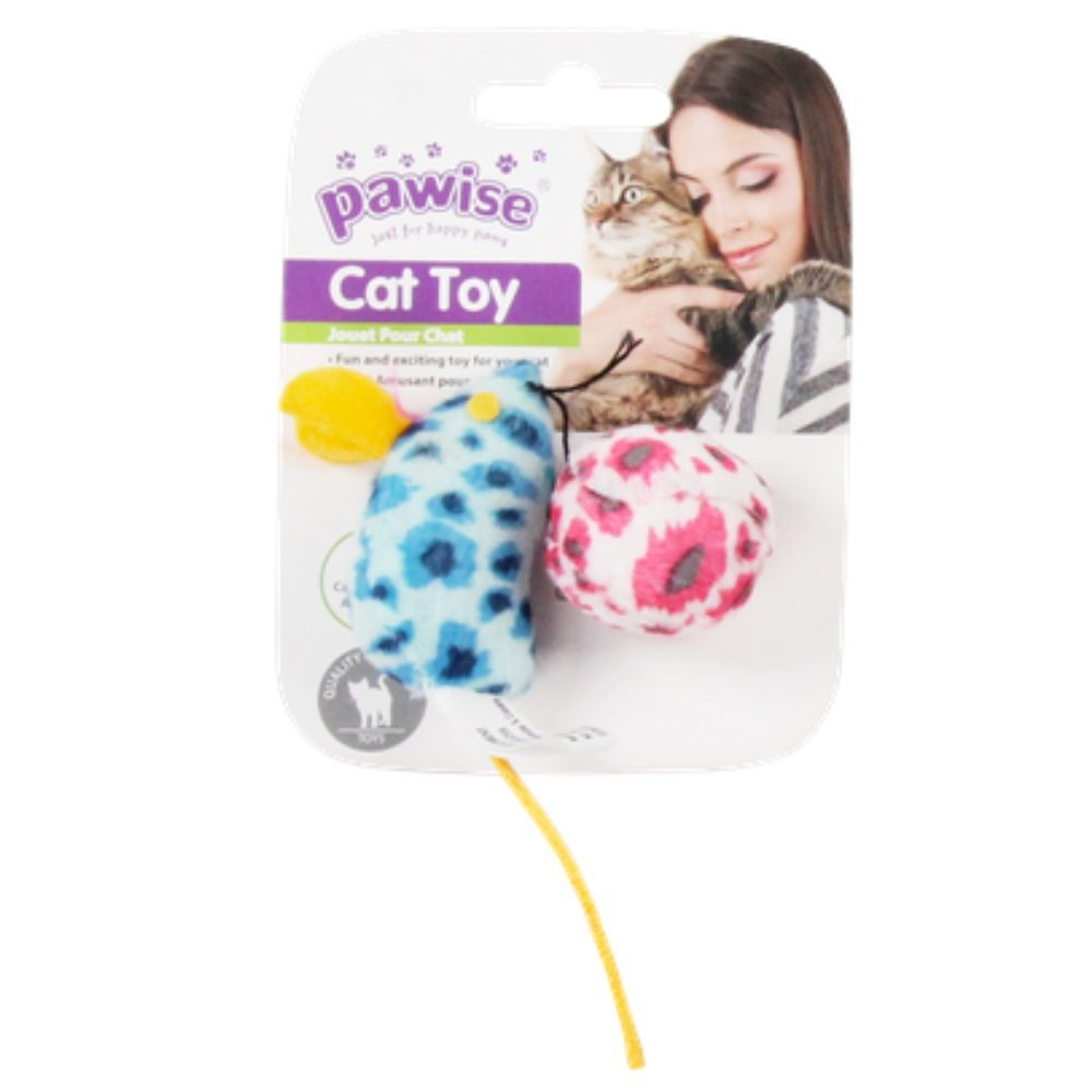 Brinquedo Para Gato Rato com CATNIP Pawise