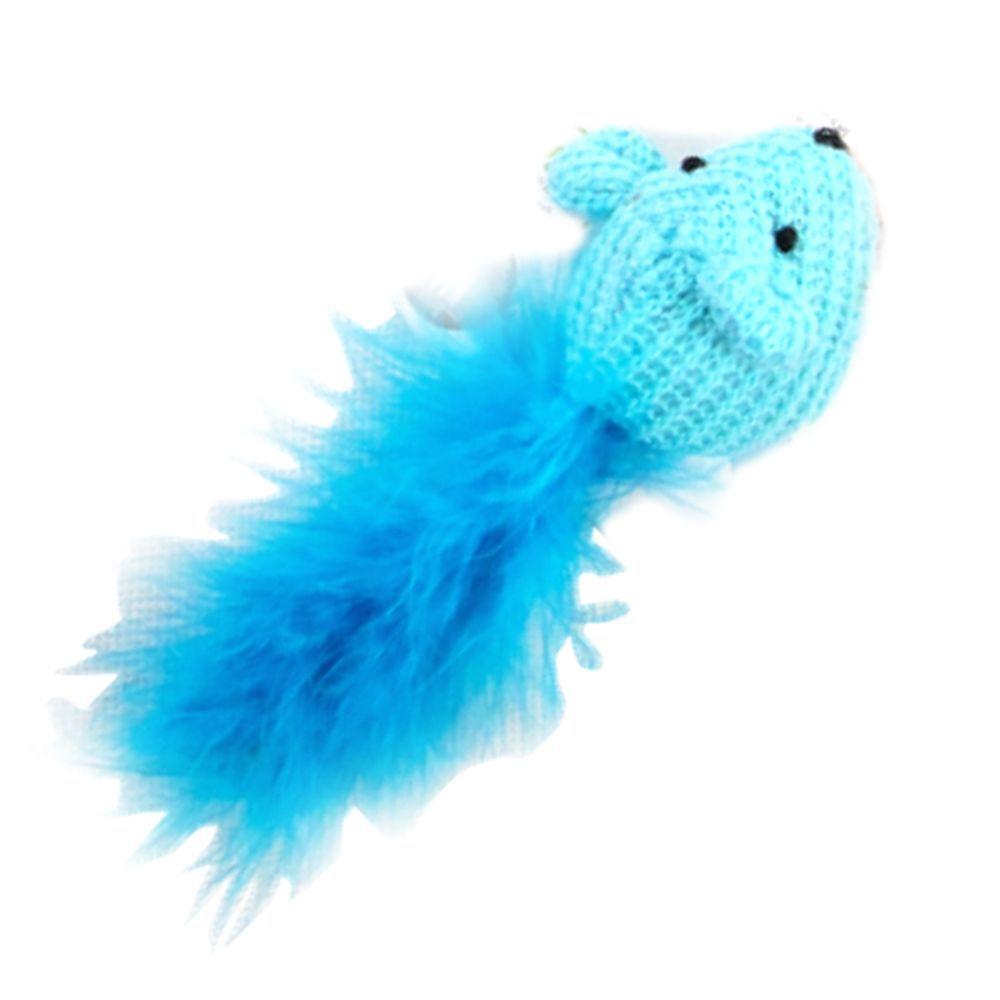 Brinquedo para Gato Rato Lã e catnip Pawise