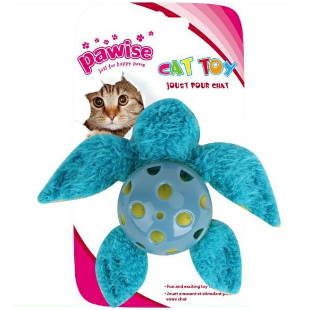 Brinquedo para Gato Tartaruga catnip Pawise