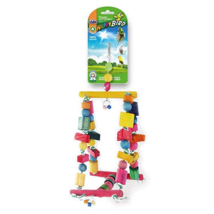 Brinquedo para Papagaio Balanço Gangorra