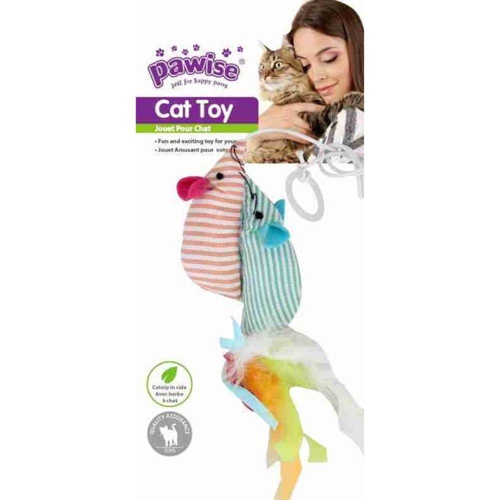Brinquedo Ratinho para Gato catnip Pawise