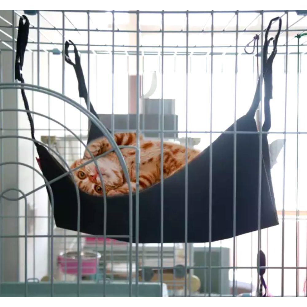 Cama Suspensa Para Gato Rede para Cadeira Pawise