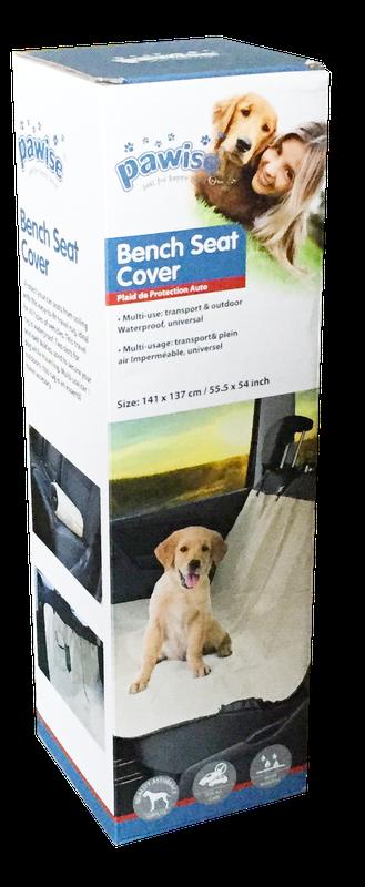 Capa Protetora para Carro Viagem com Cachorro Pawise