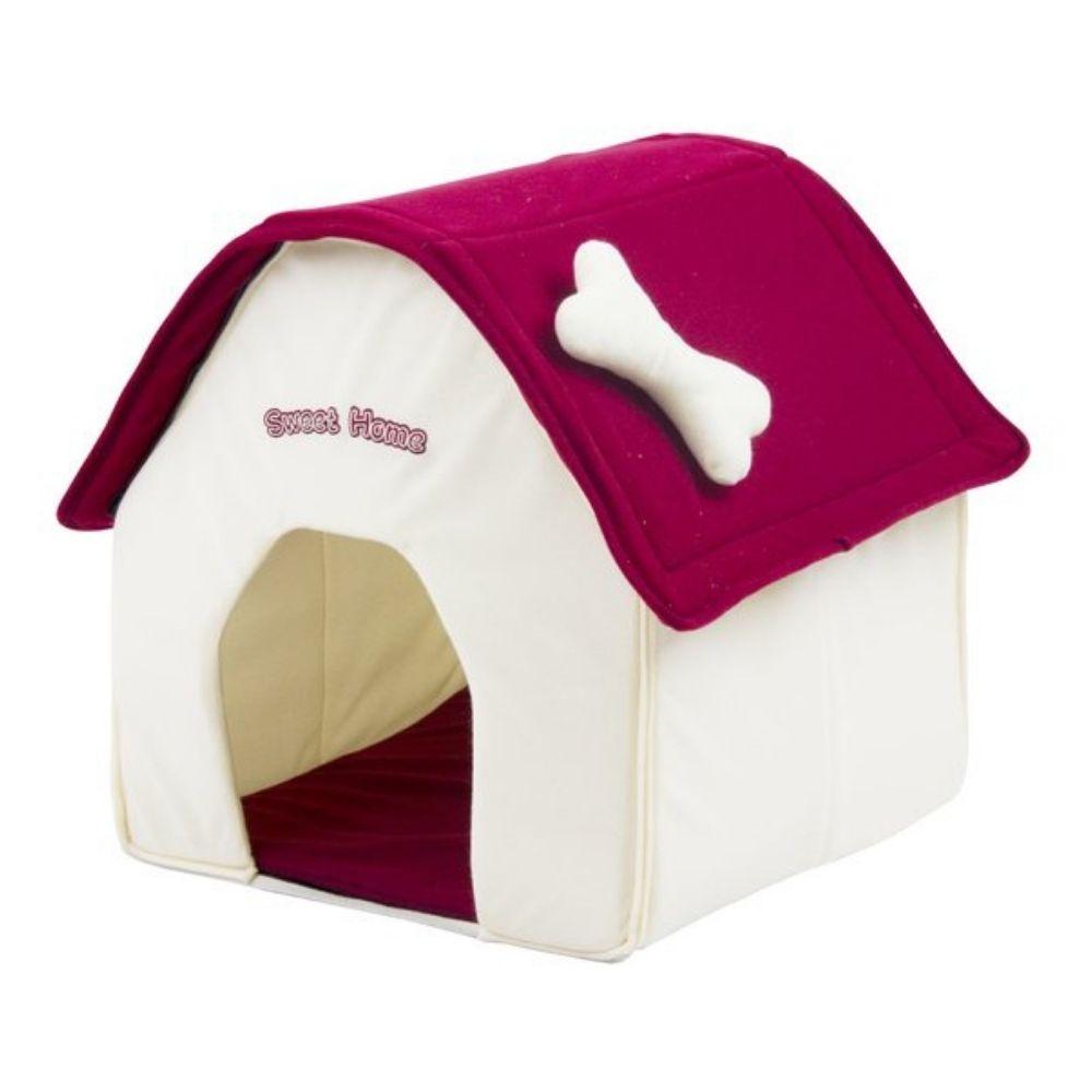 Casa para cachorro tecido 40x40x45cm