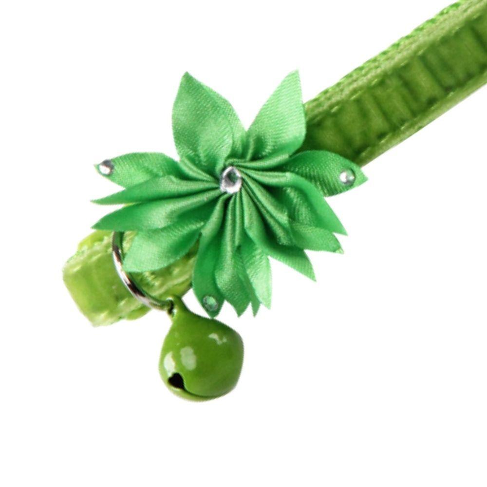 Coleira para GATO Flower Green Pawise