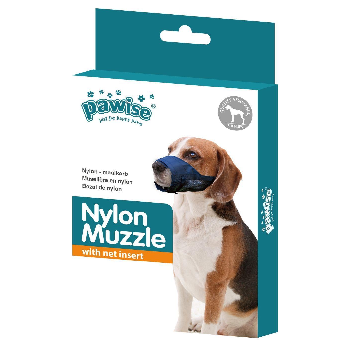 Focinheira para Cachorro em Nylon tam 4 Pawise