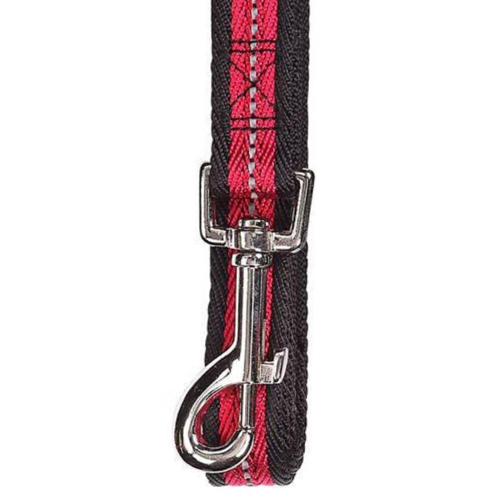 Guia para Cachorro Refletiva Vermelha Média Pawise