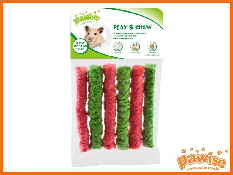 Kit Banheiro para Hamster e Brinquedinho de Milho e Arroz Pawise