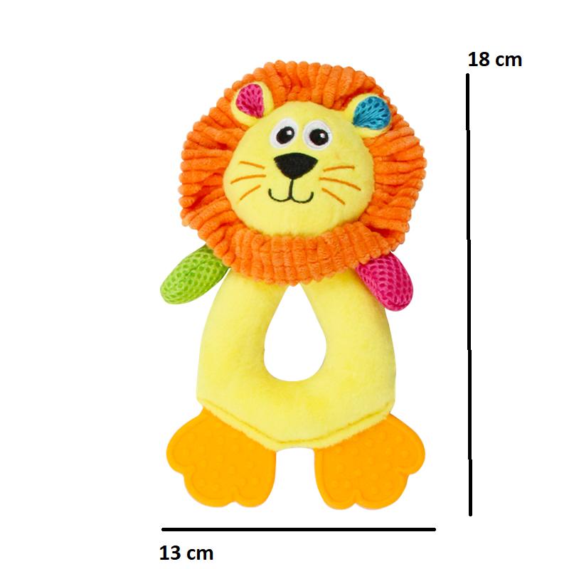 Kit 4 Brinquedo de Pelúcia Coleção Vivid Life Pawise