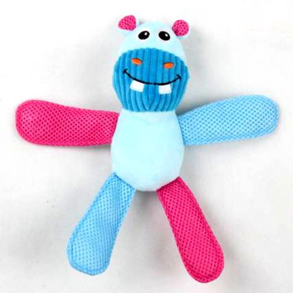 Kit 4 Brinquedo de Pelúcia com Apito Coleção Vivid Pawise