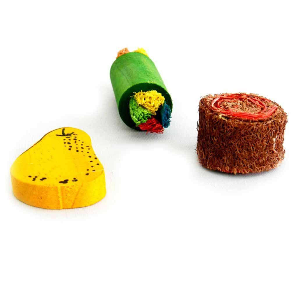 Kit com Brinquedos para Roedores Pawise