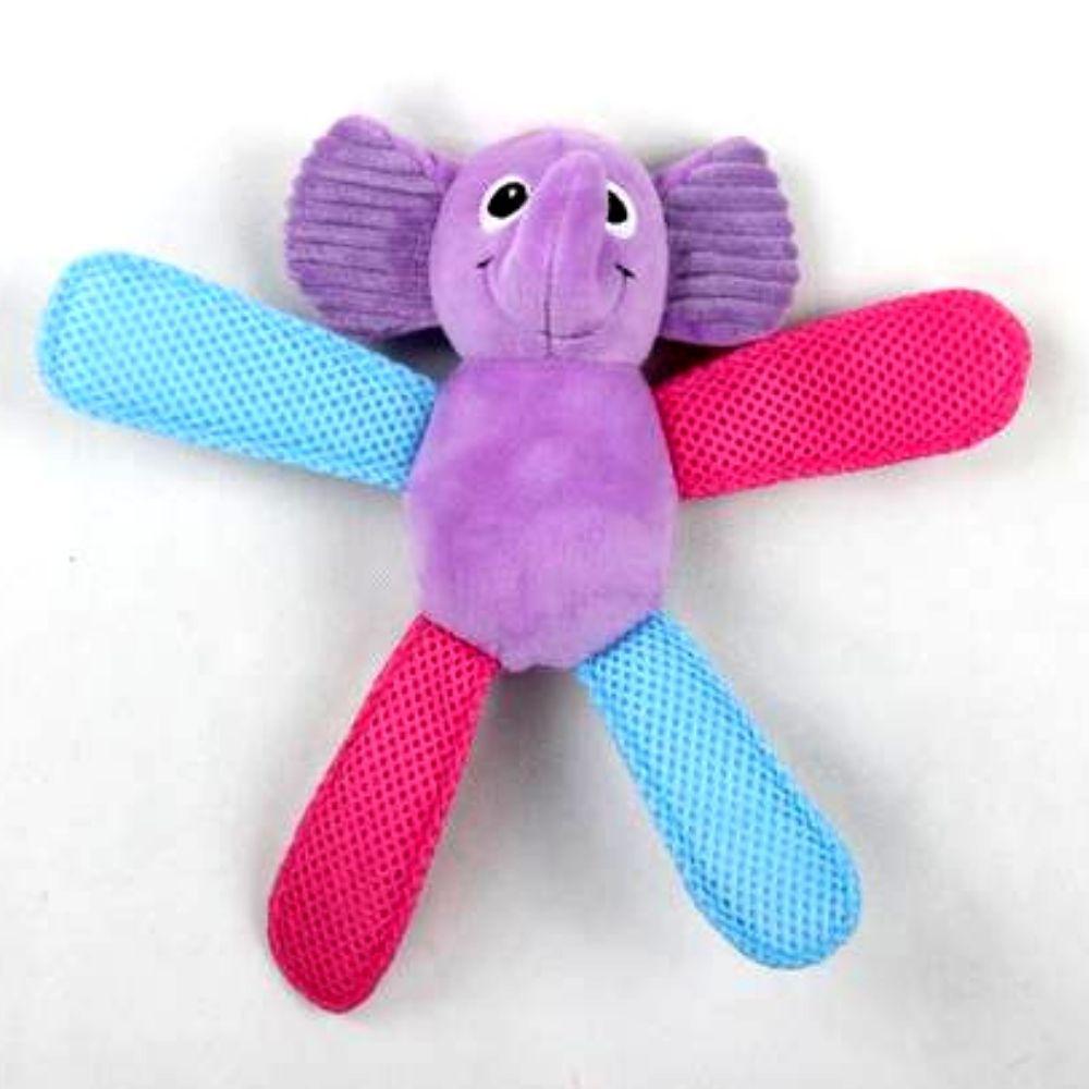 Kit Comedouro Dispenser e Elefante Pelúcia Pawise