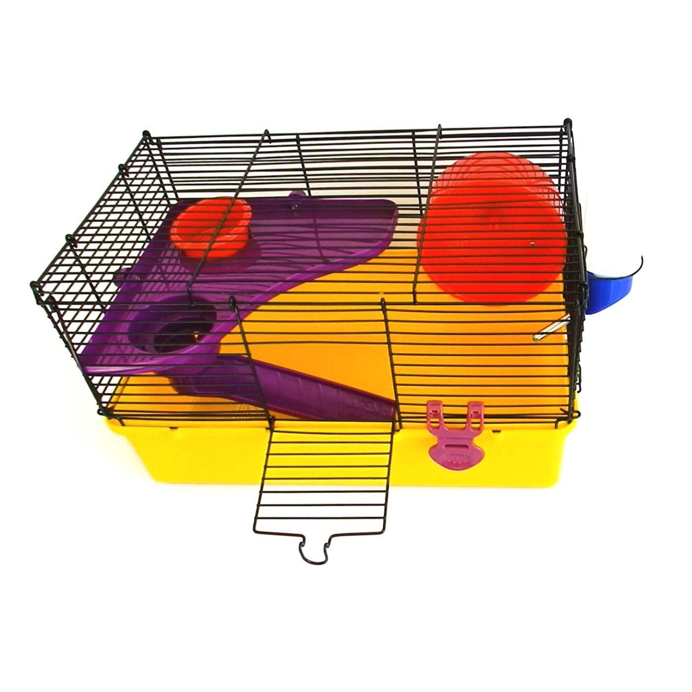 Gaiola Completa para Hamster com Mezanino Pawise