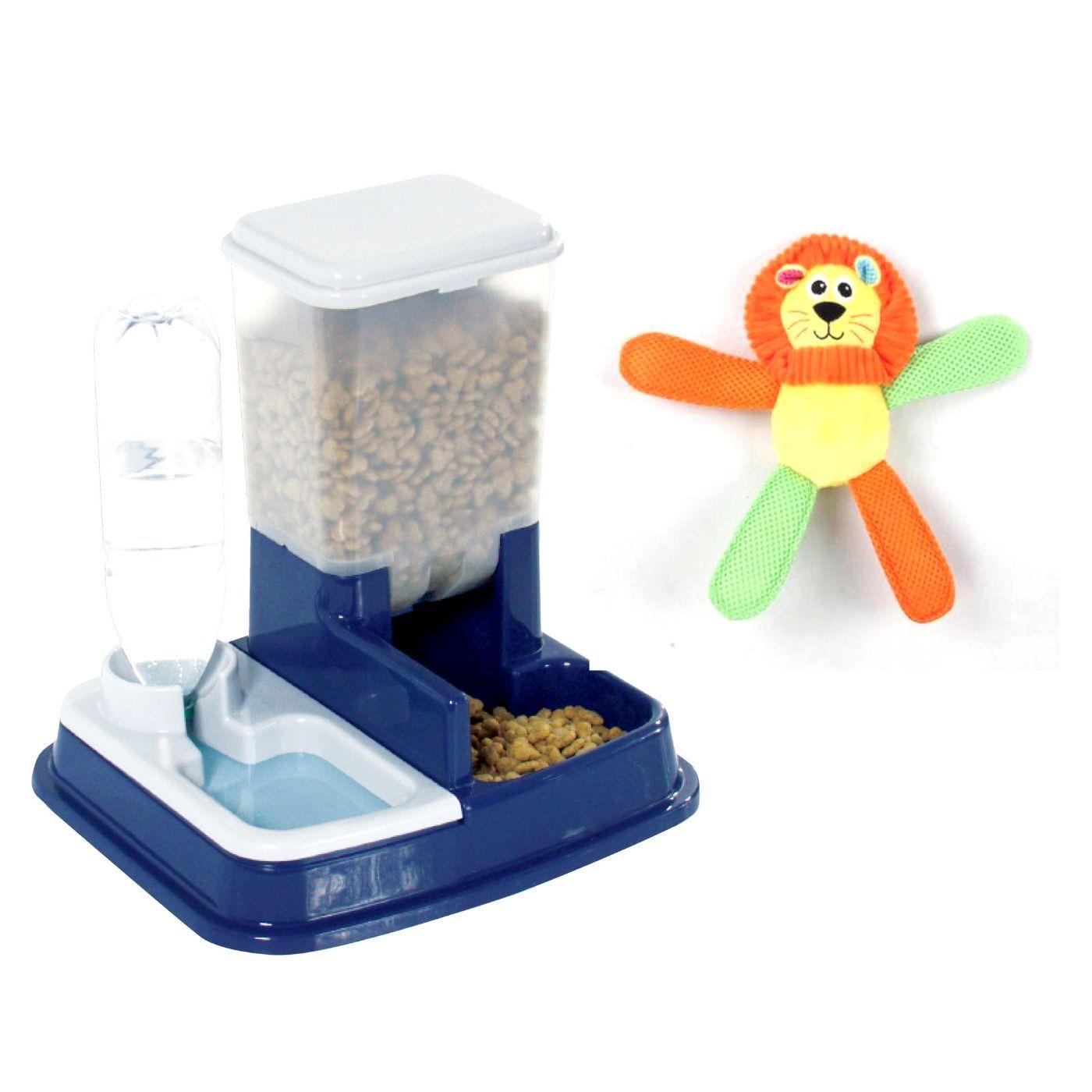 Comedouro Dispenser com Brinquedo Pawise