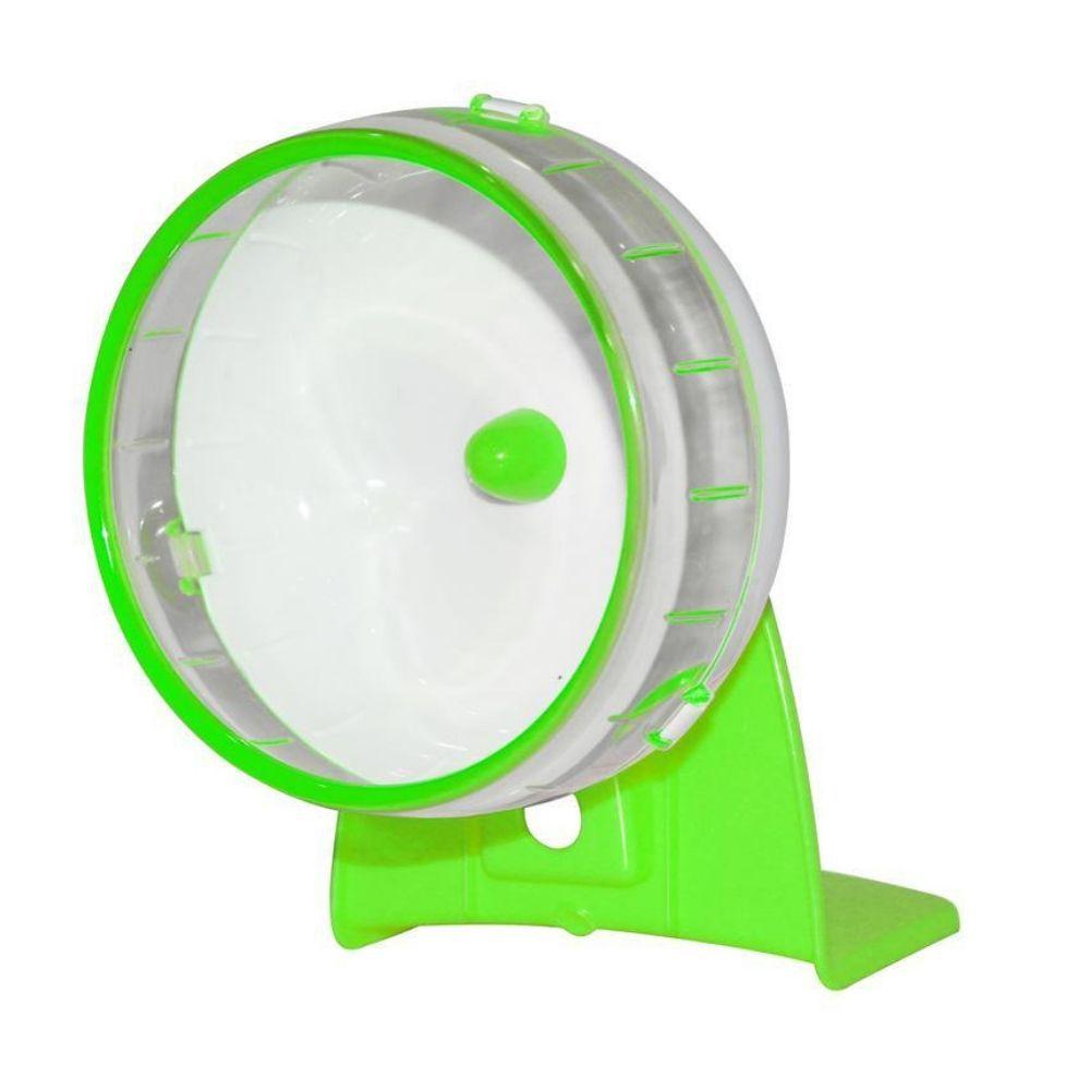 kit para Hamster Banheiro e Bolinho e Roda Pawise