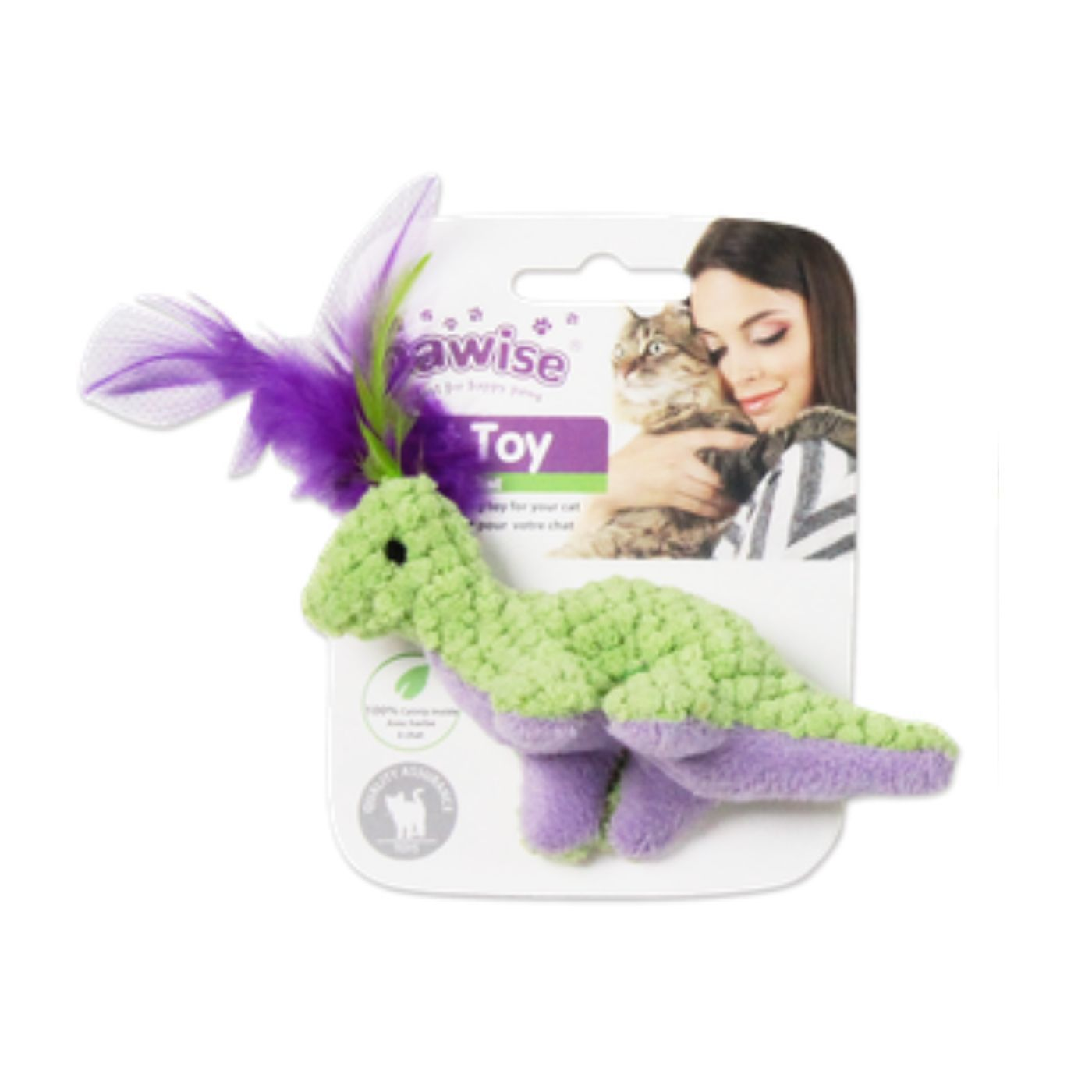Brinquedo para Gato Dinossauro Pawise
